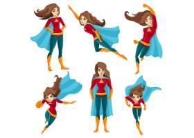 超女动作图标集_4265872