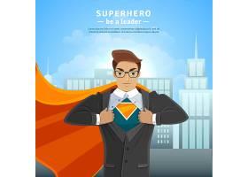 超级英雄商人概念_3889572