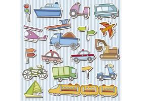 车辆玩具贴纸_820042