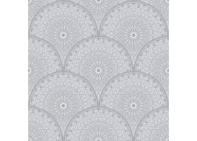 阿拉伯风格的花卉无缝图案背景_5575765