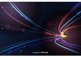高速灯光跟踪背景_5633157