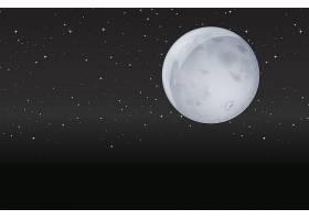 黑夜中的月亮_3600494
