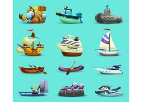 船和船的图标设置_3886853