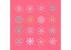 花卉图案和图标_3834227