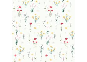 花卉图案背景_3594109
