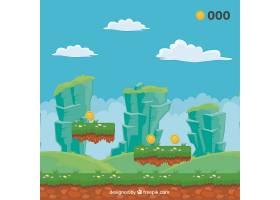 电子游戏景观背景_956170