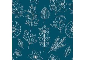 花卉矢量图案设计插图_2903991