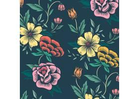 花卉背景图案_3760056