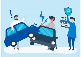 解决车祸的保险代理人_3530070
