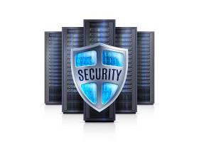 服务器机架安全防护真实感插图_3907759