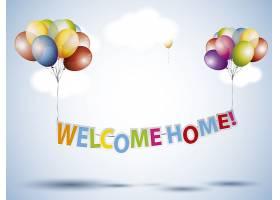欢迎回家背景_1162777