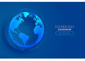 技术地球与全球网络线路设计_9874047