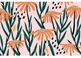 复古花卉图案_4561122