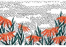 复古花卉背景_4561134