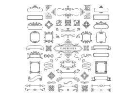 复古装饰框插图集_3756028