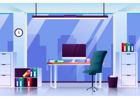 办公室视频会议背景_9892493