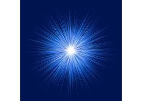 发亮的蓝色背景_1124230