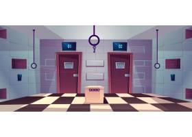 关门任务房间的矢量卡通背景_4015269
