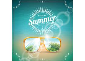 夏季背景设计_1020320