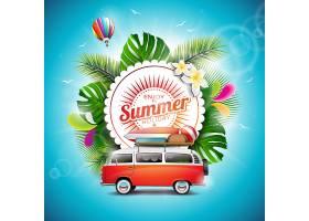 夏季背景设计_1028219