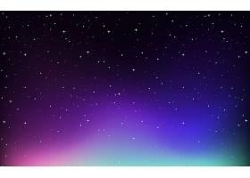 天空中有星星的背景_5837868