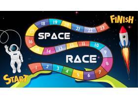 太空竞赛棋盘游戏背景_5912909