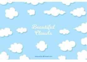 以美丽的云彩为背景_2040598