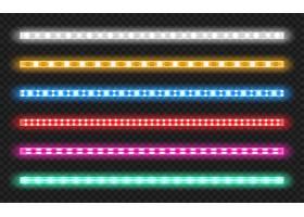 一套具有霓虹灯发光效果的led条带_9292781