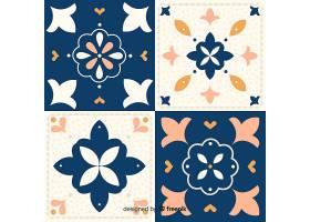 一套平面设计的瓷砖_2975514