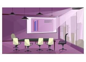 现代商务会议室插图_3297772