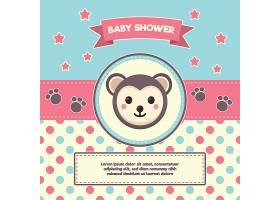 婴儿淋浴背景设计_1091855