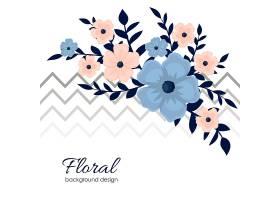 小花里有可爱的花朵图案_3733838