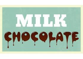 巧克力背景设计_1080126