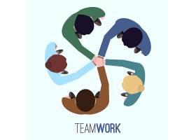 团队合作背景设计_1045097