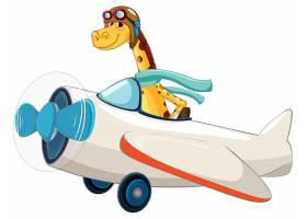 长颈鹿乘坐飞机_3789689