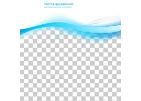 矢量抽象背景设计波浪形_1306447