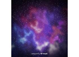 星系粒子背景的美景_5888799