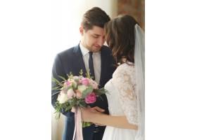 婚礼新娘和新郎_9283389