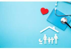 一种带复制空间的家族人物造型及听诊器_7413253