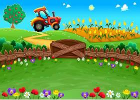 种满鲜花的农场_1075673