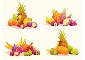 热带水果四色组合套装_3791460