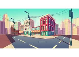 有了运输公路城市道路变成了空街_5901402