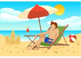 平淡的暑假概念_9514200