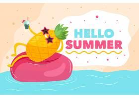 平面设计你好夏日主题_7746742