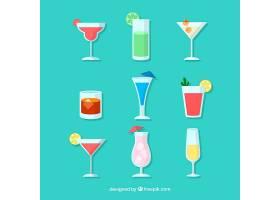 平面设计的鸡尾酒系列_2307436
