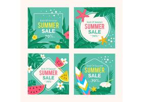 季末夏季促销Instagram帖子收藏_9281747
