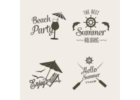 夏日标志设计_1054981