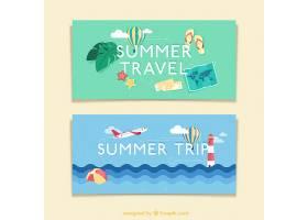夏日横幅旅行_874029