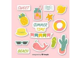 夏日贴纸收藏_4493668