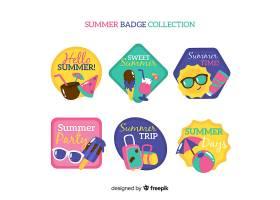 夏季徽章系列_4389674